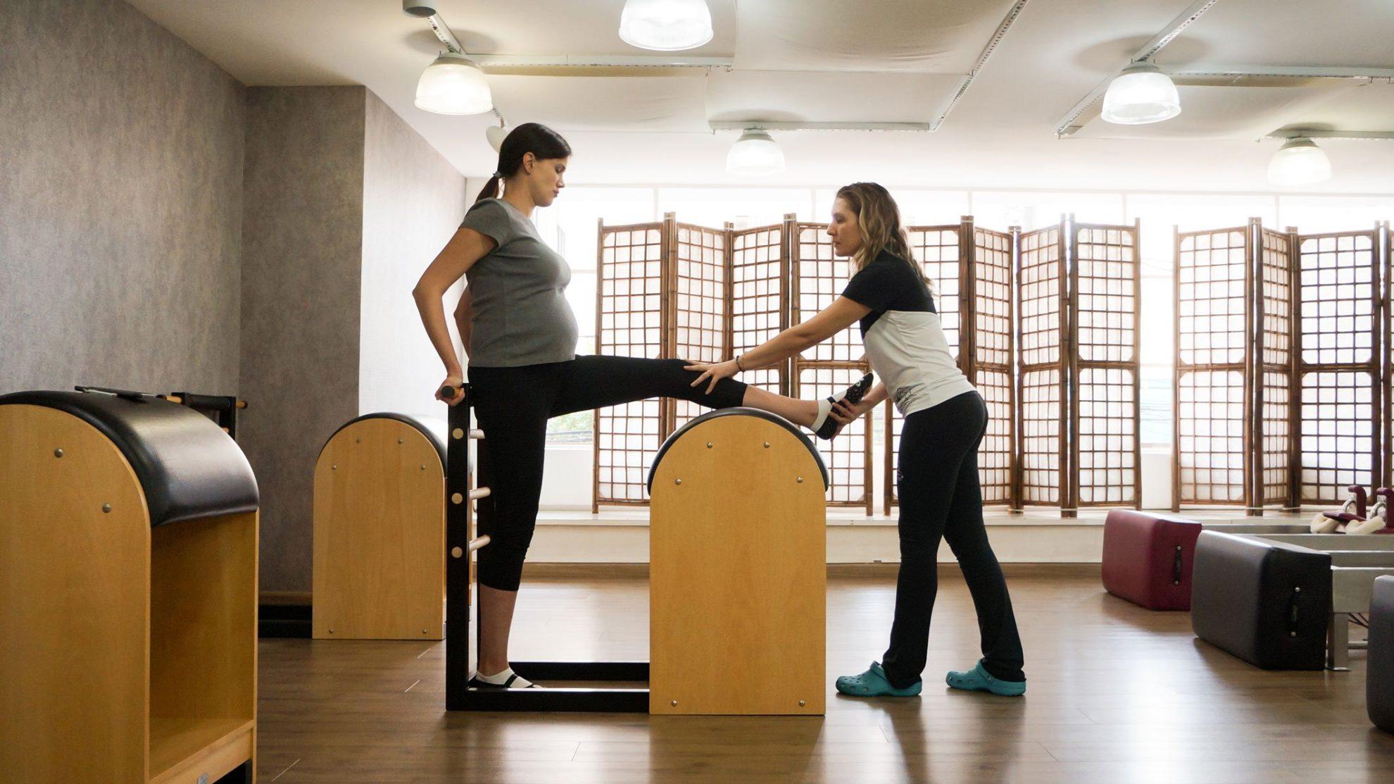 Aula de pilates - Nanô Pilates
