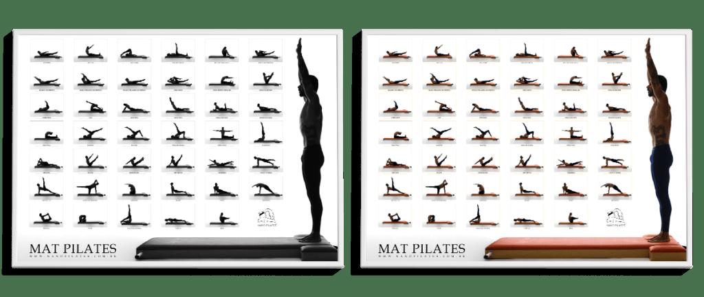 Mat Pilates Poster junto - Nanô Pilates
